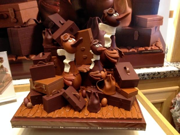 Pâques à la Maison du Chocolat