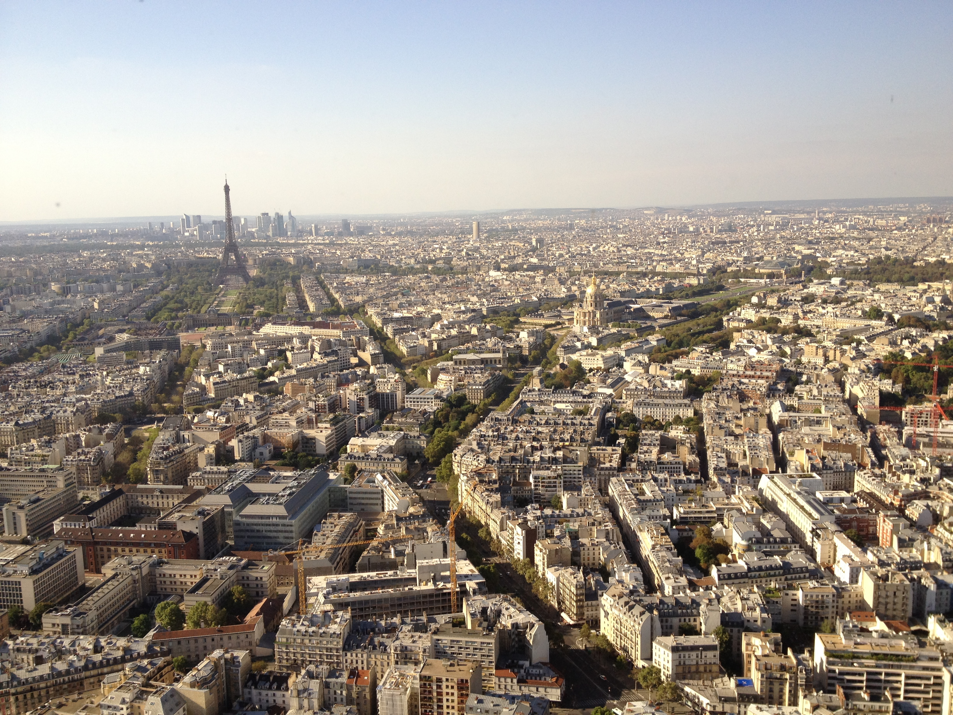 vue du ciel de paris the kitchen around the corner
