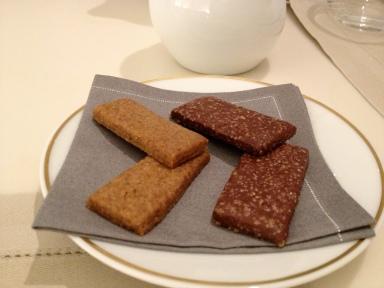 Sablés cacao et cannelle