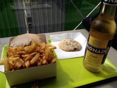burger frites bioburger