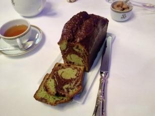 marbré pistache chocolat