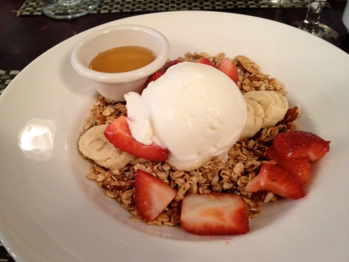 granola morning crunchy