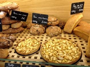 tartes et pains