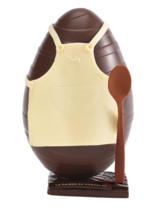 l'oeuf chocolat de la maison du chocolat
