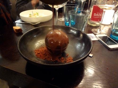 sphere chocolat