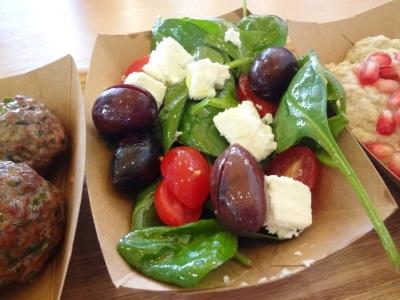 salade pousses d'epinard