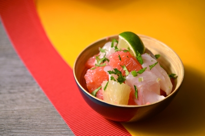 Ceviche agrumes