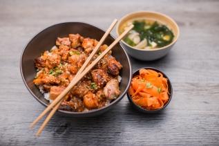 Donburi Chicken grilled