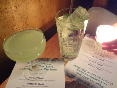 Cocktails Chartreuse Verte