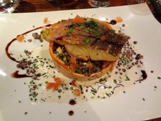 haddock lentilles