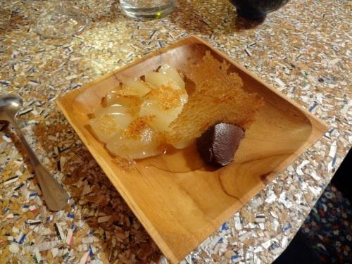 poire ganache au chocolat