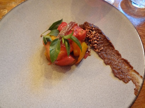 tomates purée aubergine