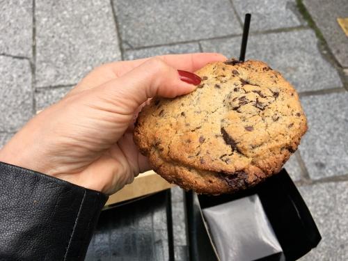 cookie chocolat noir et lin