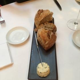 pain et beurre d'algues