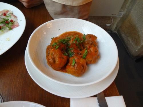 boulettes de veau